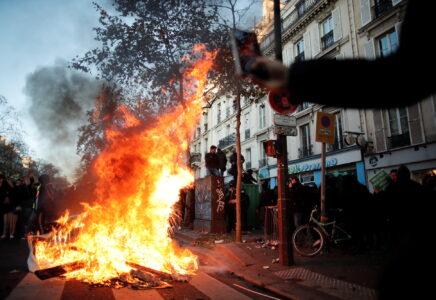 Ve Francii se protestovalo proti návrhu zákona o bezpečnosti