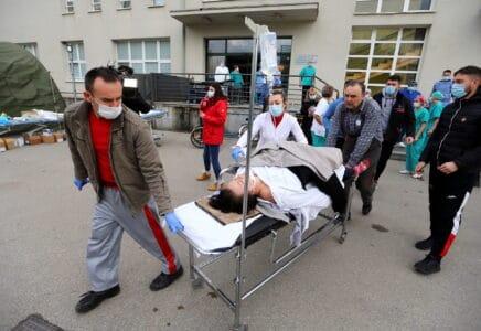 Chorvatsko zasáhlo silné zemětřesení