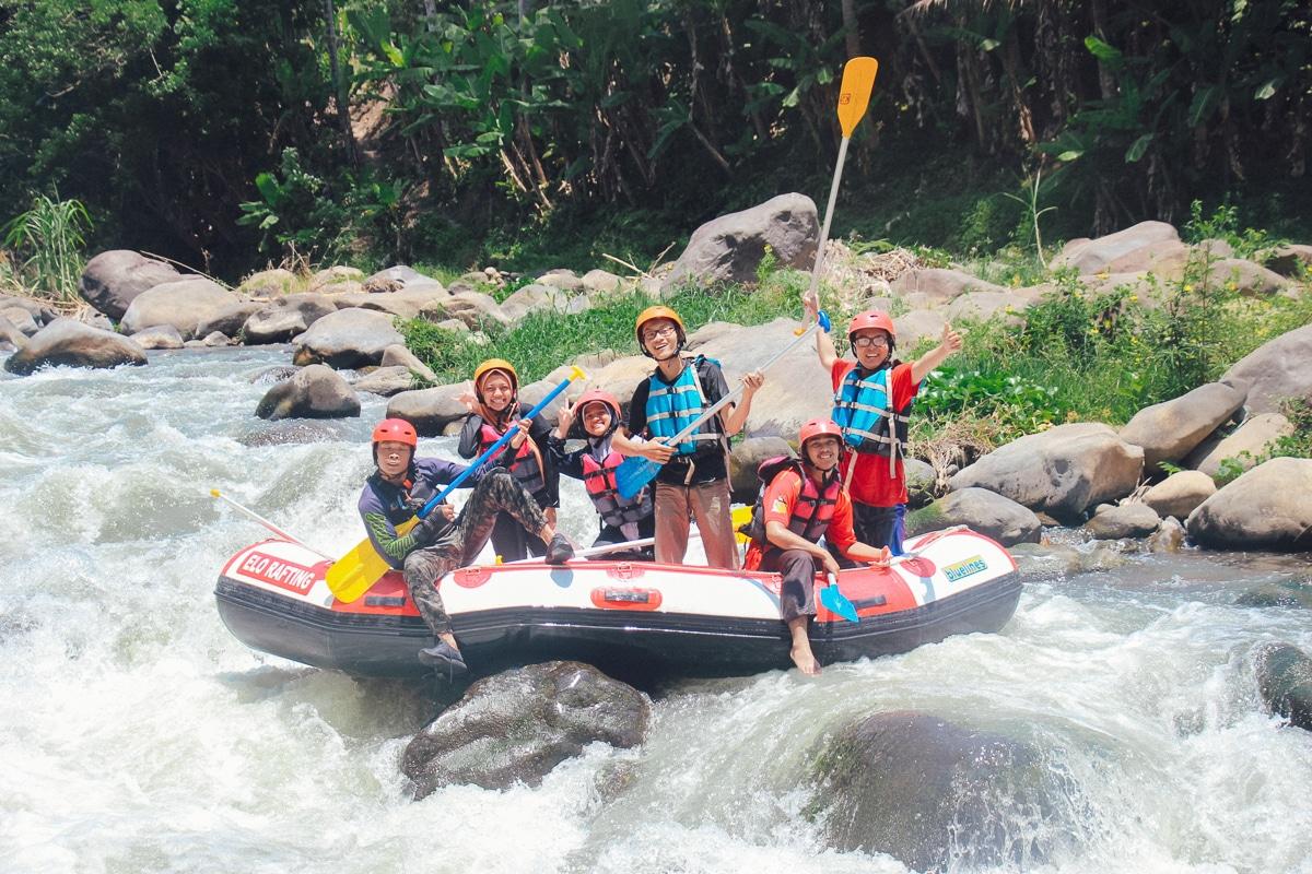 extrémní sporty - rafting