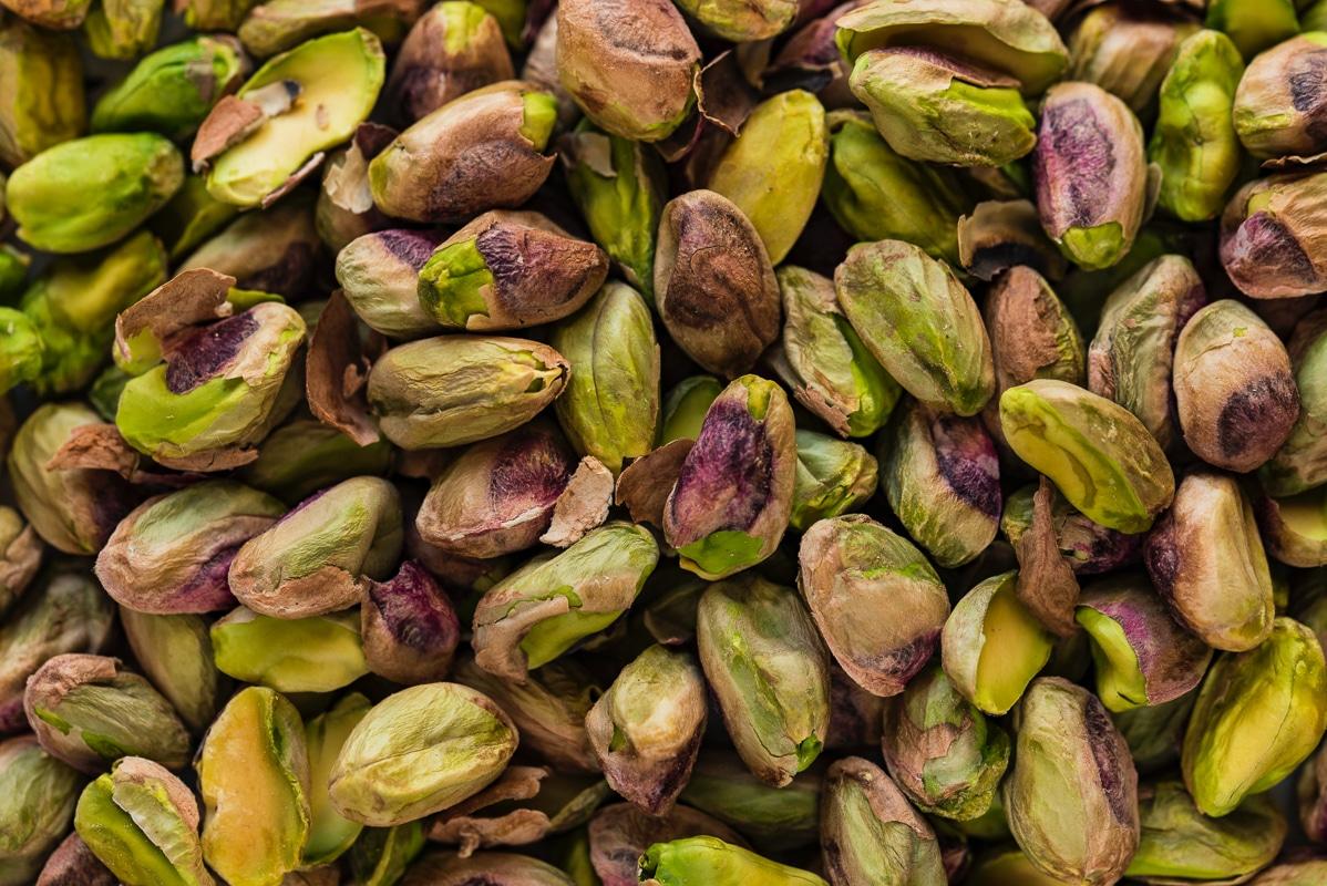 9 druhů ořechů - pistácie
