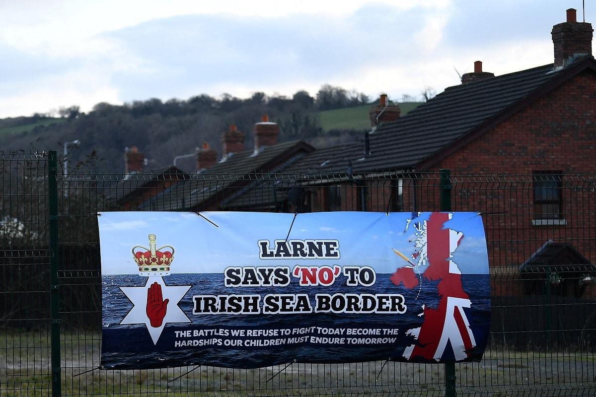 Přístav Larne v Severním Irsku. Foto:Reuters
