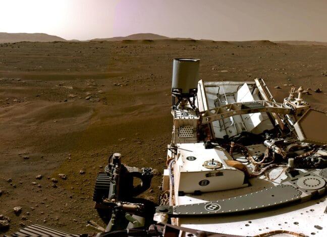 Sonda na Marsu
