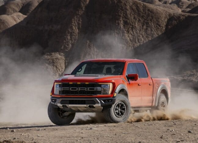 FORD F-150 Raptor. No