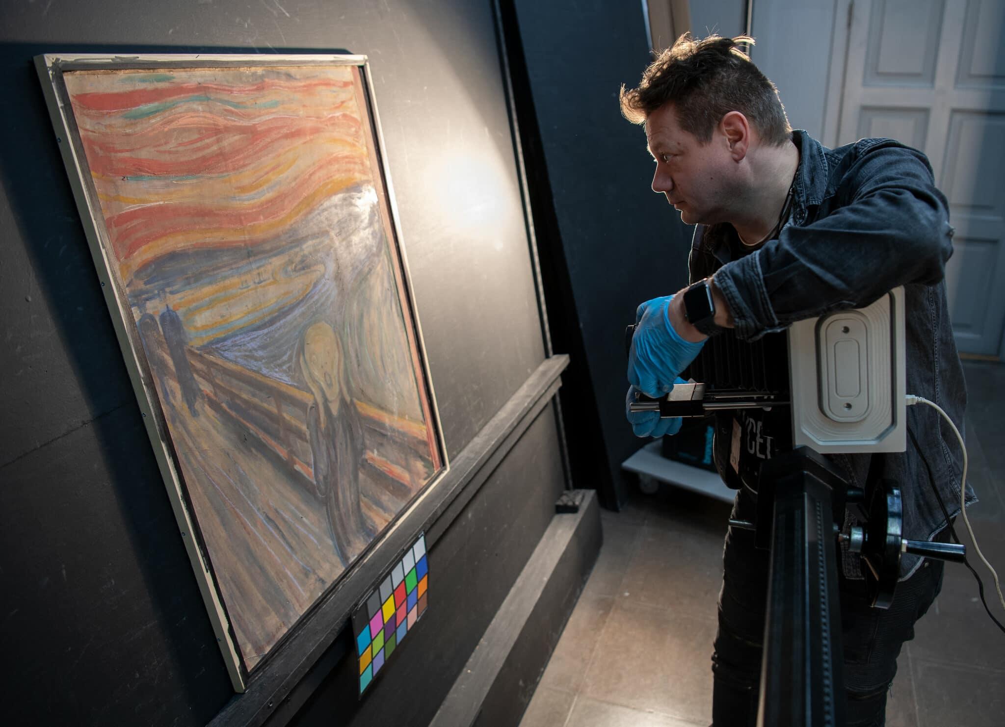 Analýza obrazu Výkřik od Edvarda Muncha