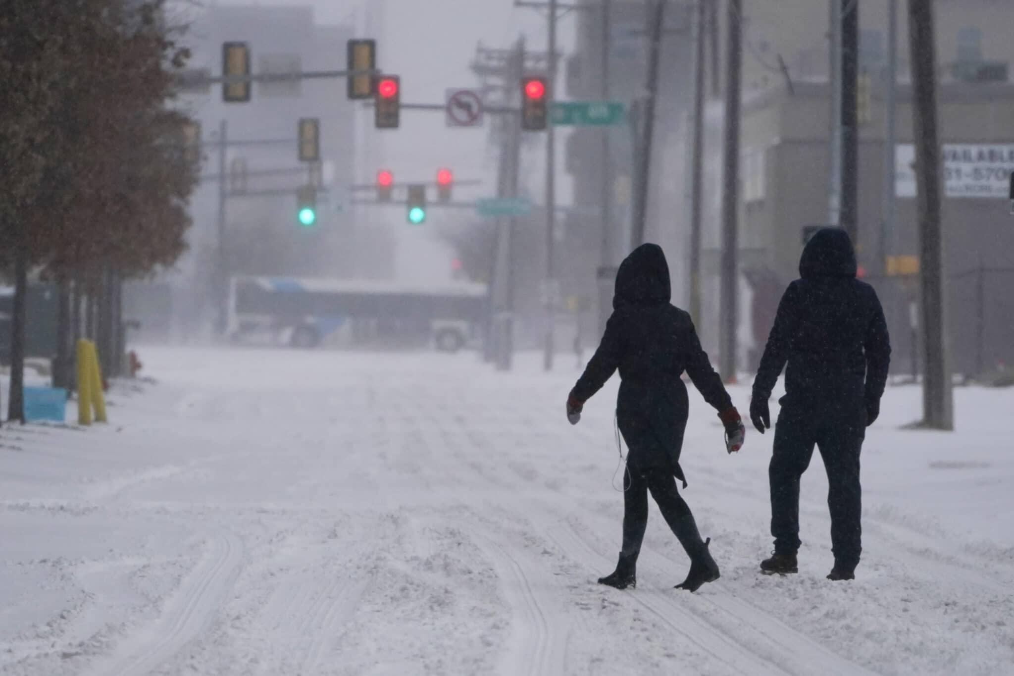 Zima v Texasu