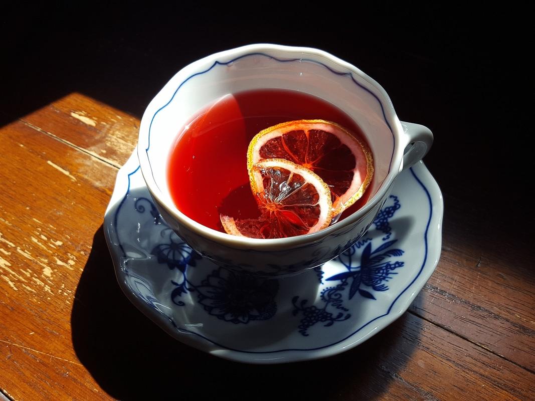bylinkové čaje - ibiškový čaj