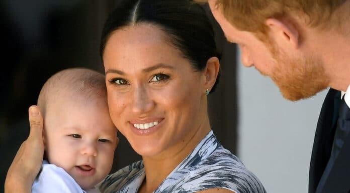 Harry s Meghan a synem Archiem