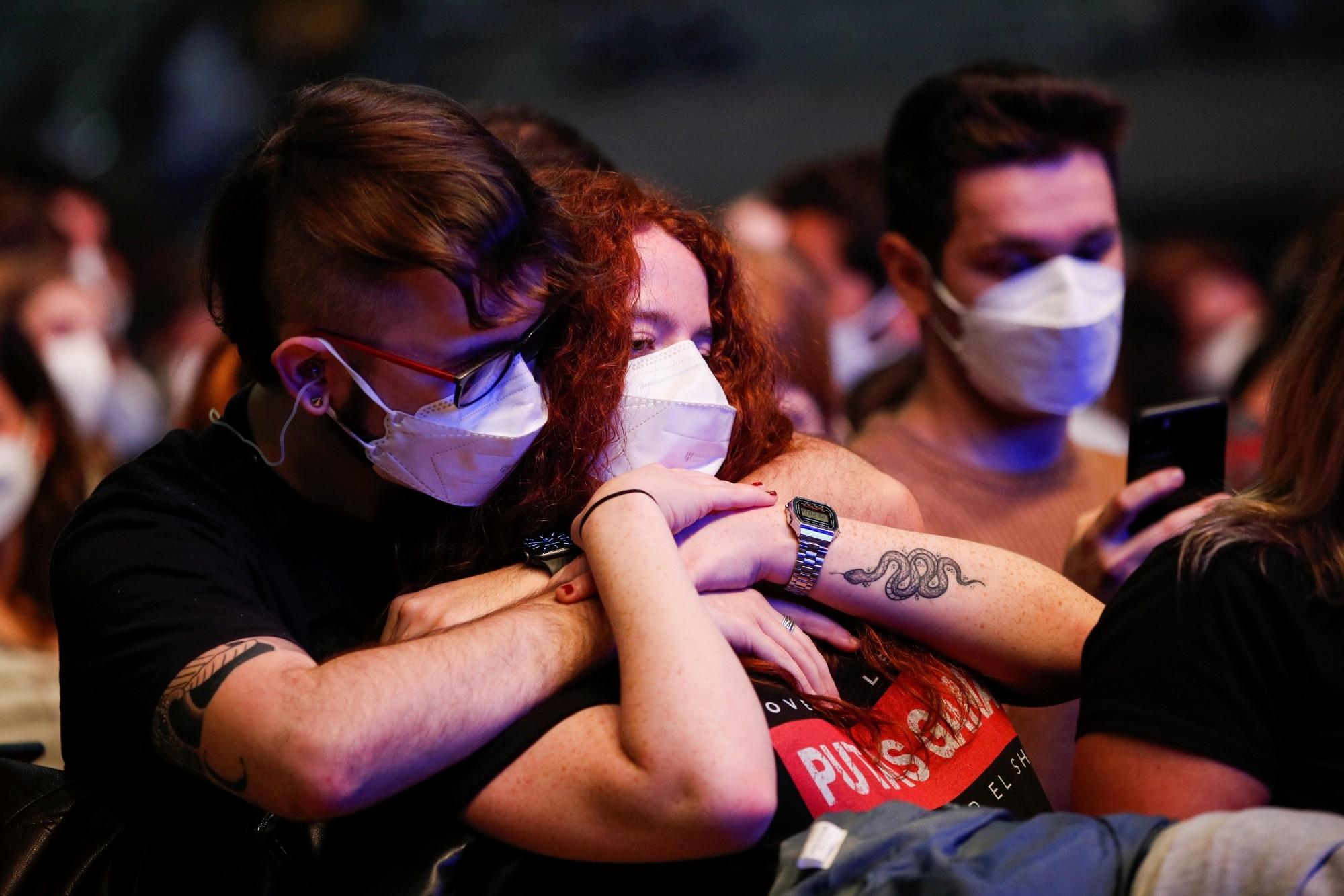 Koncert Love of Lesbian v Barceloně