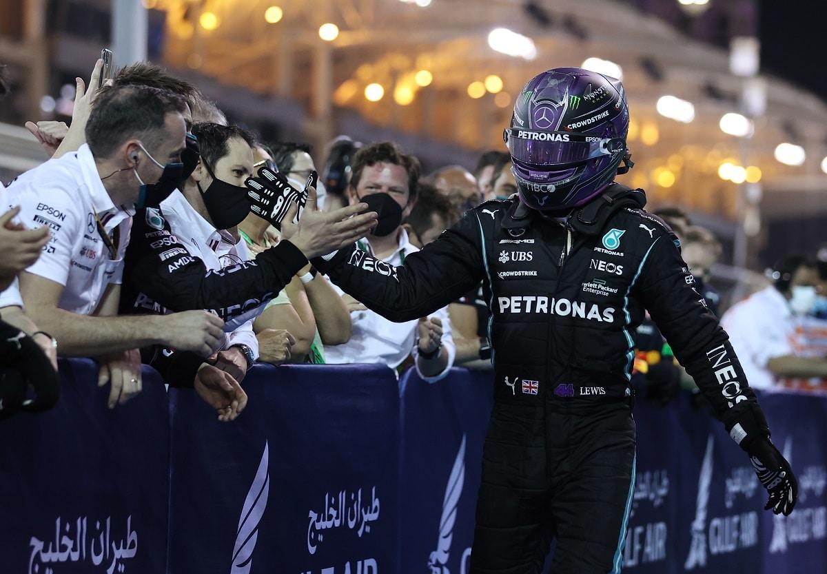 V Bahrajnu kraloval Hamilton