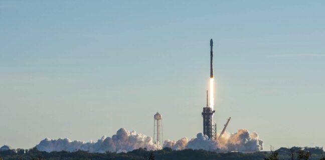 Start rakety Falcon 9