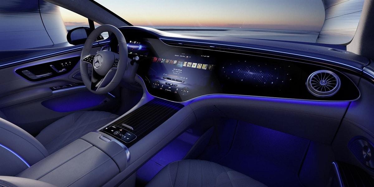 Mercedes vnitřek EQS