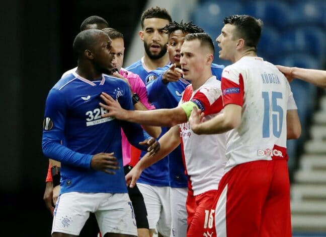 Rangers vs. Slavia