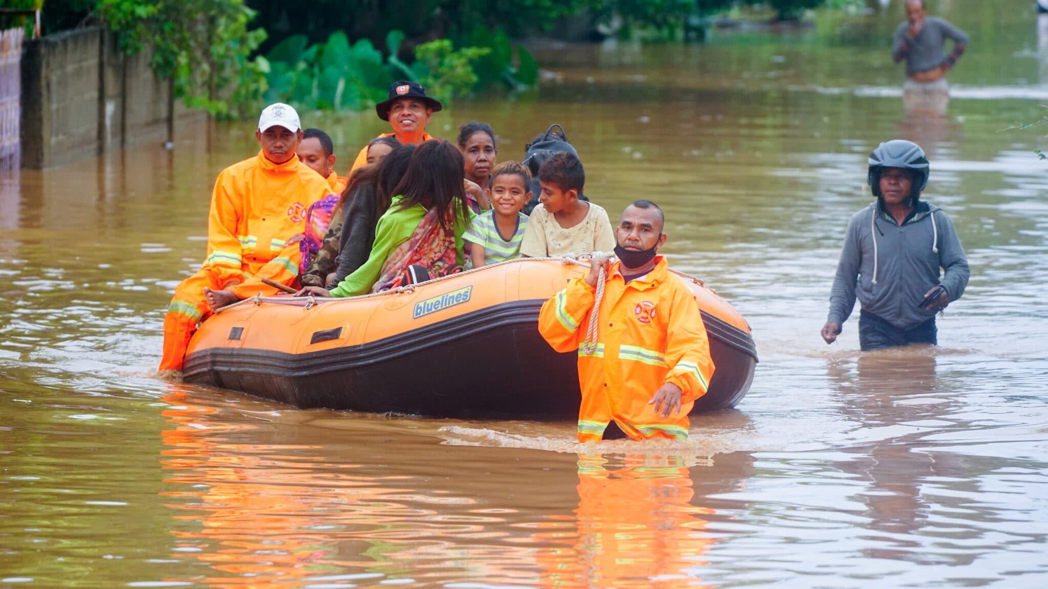 Evakuace: Záplavy ve Východním Timoru