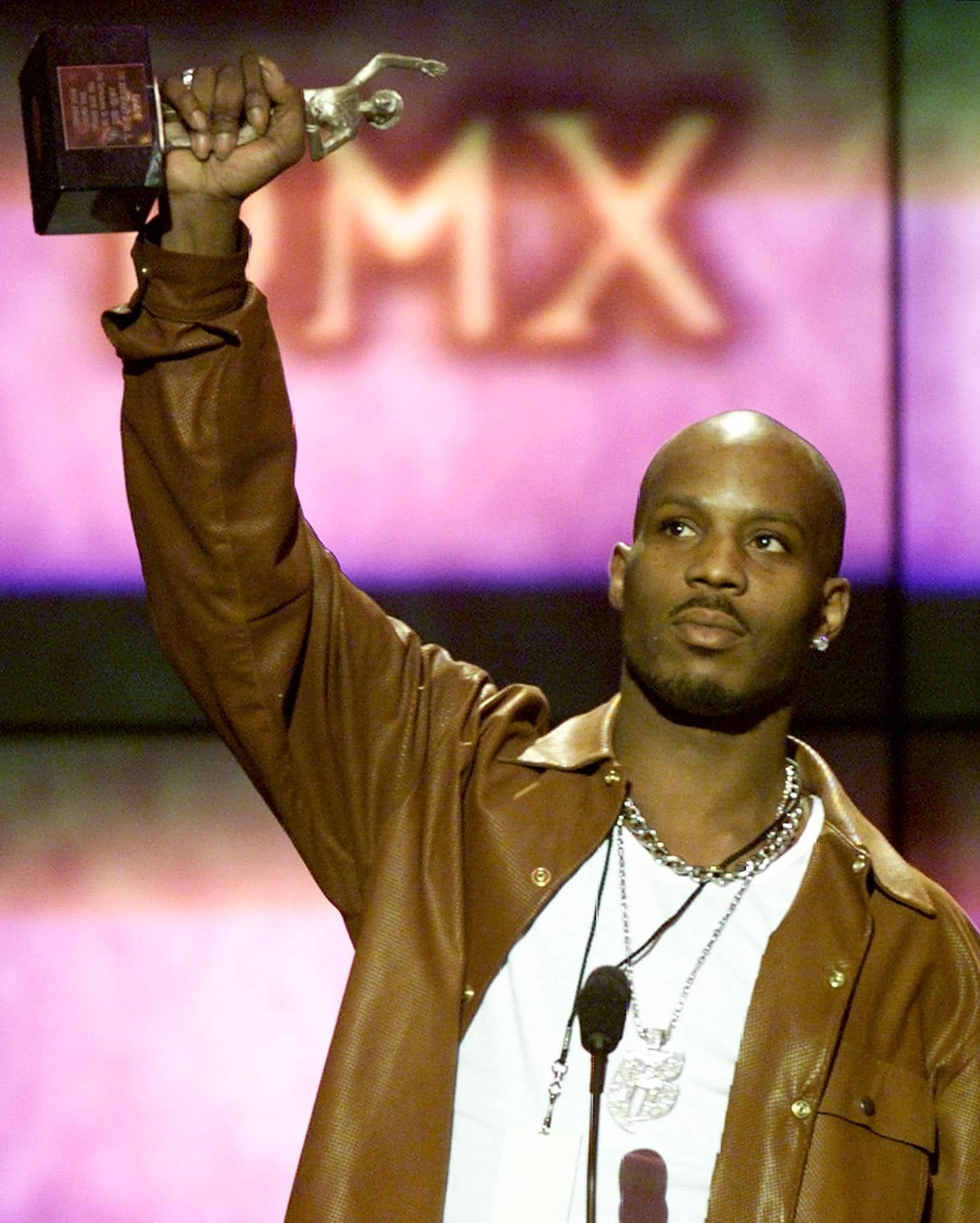 Rapper DMX na 14. ročníku Soul Train Music Awards, 2000