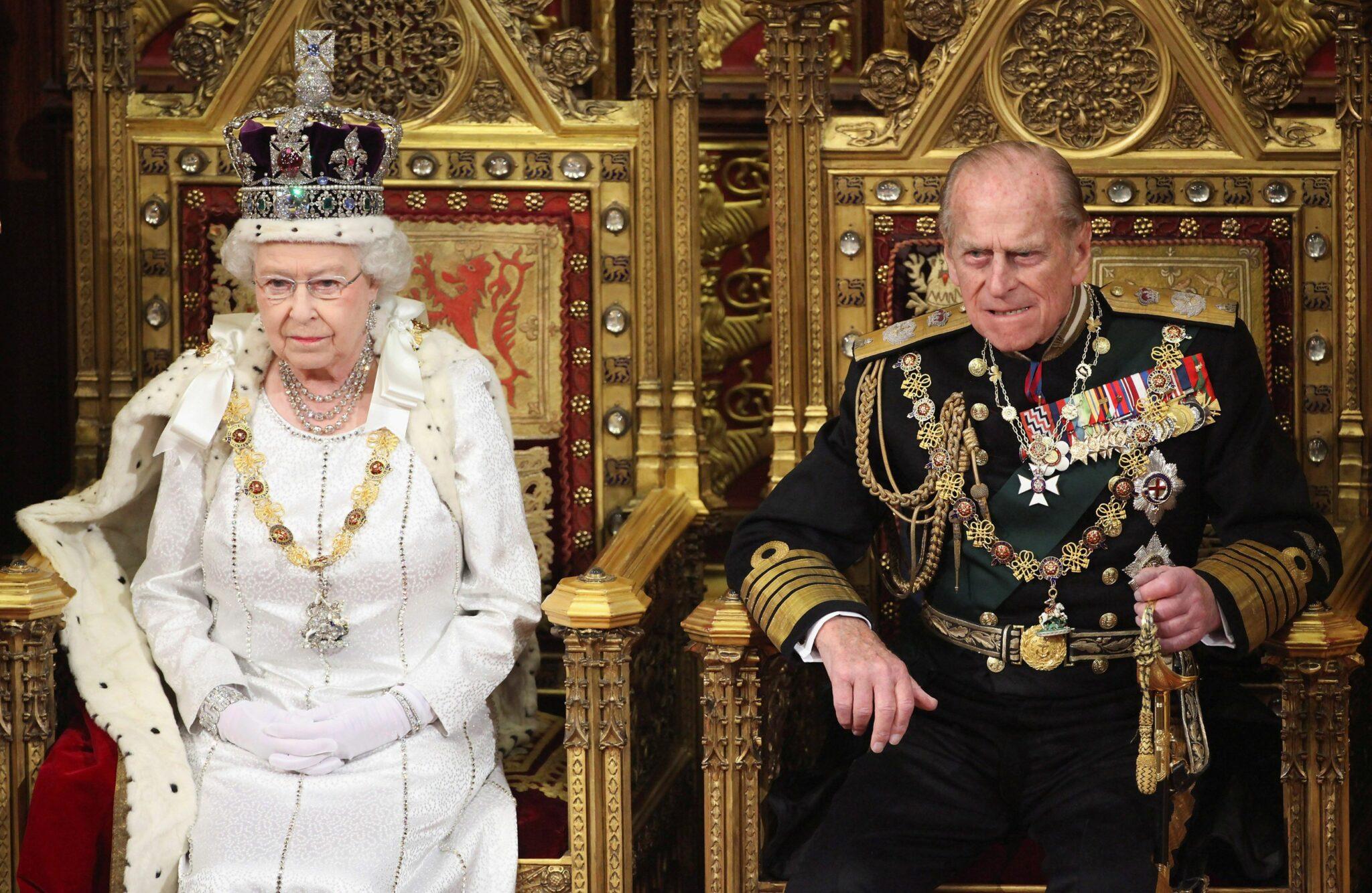 Královna Alžběta a princ Philip, Londýn 2012