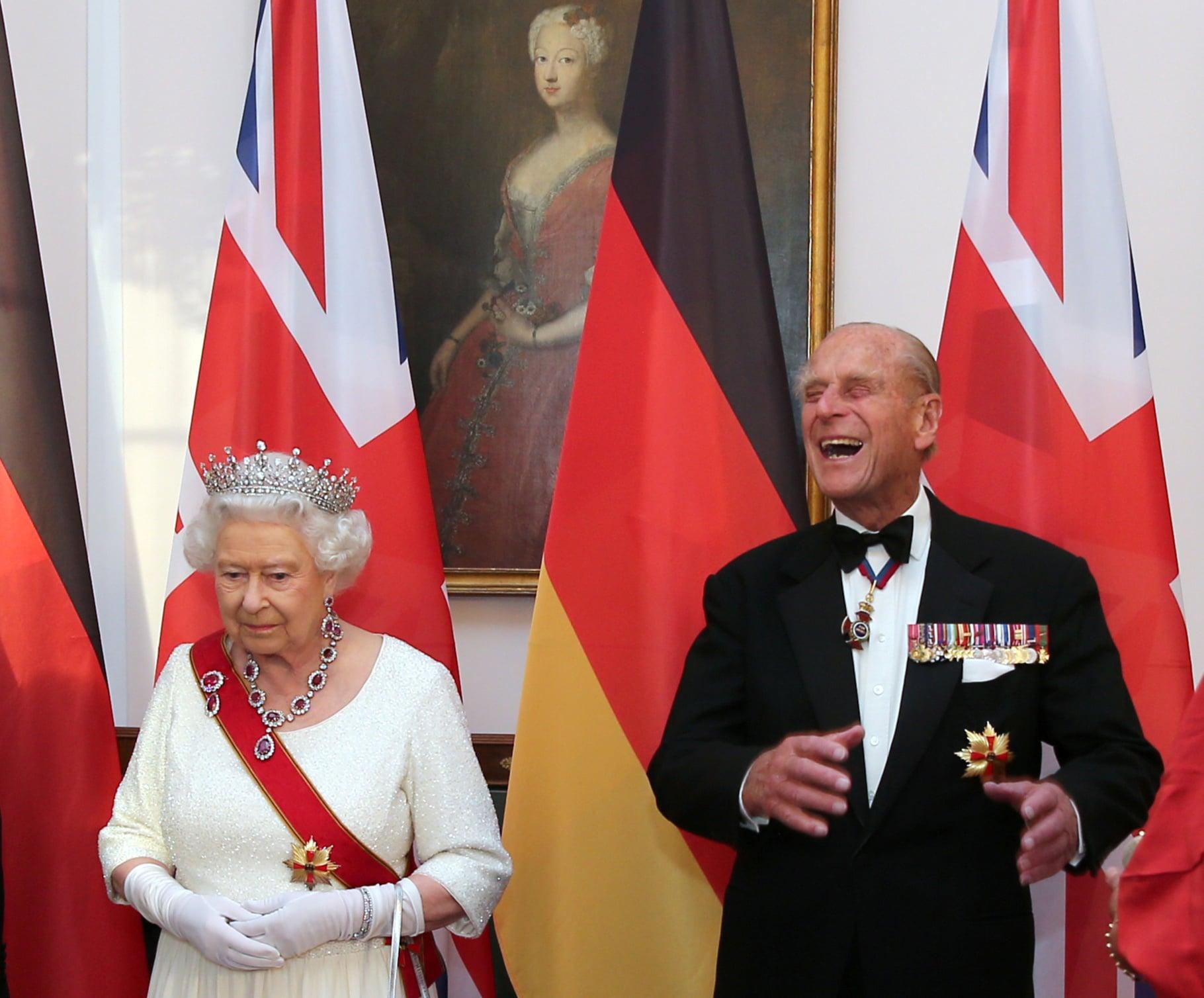 Královna Alžběta a princ Philip, Berlín 2015