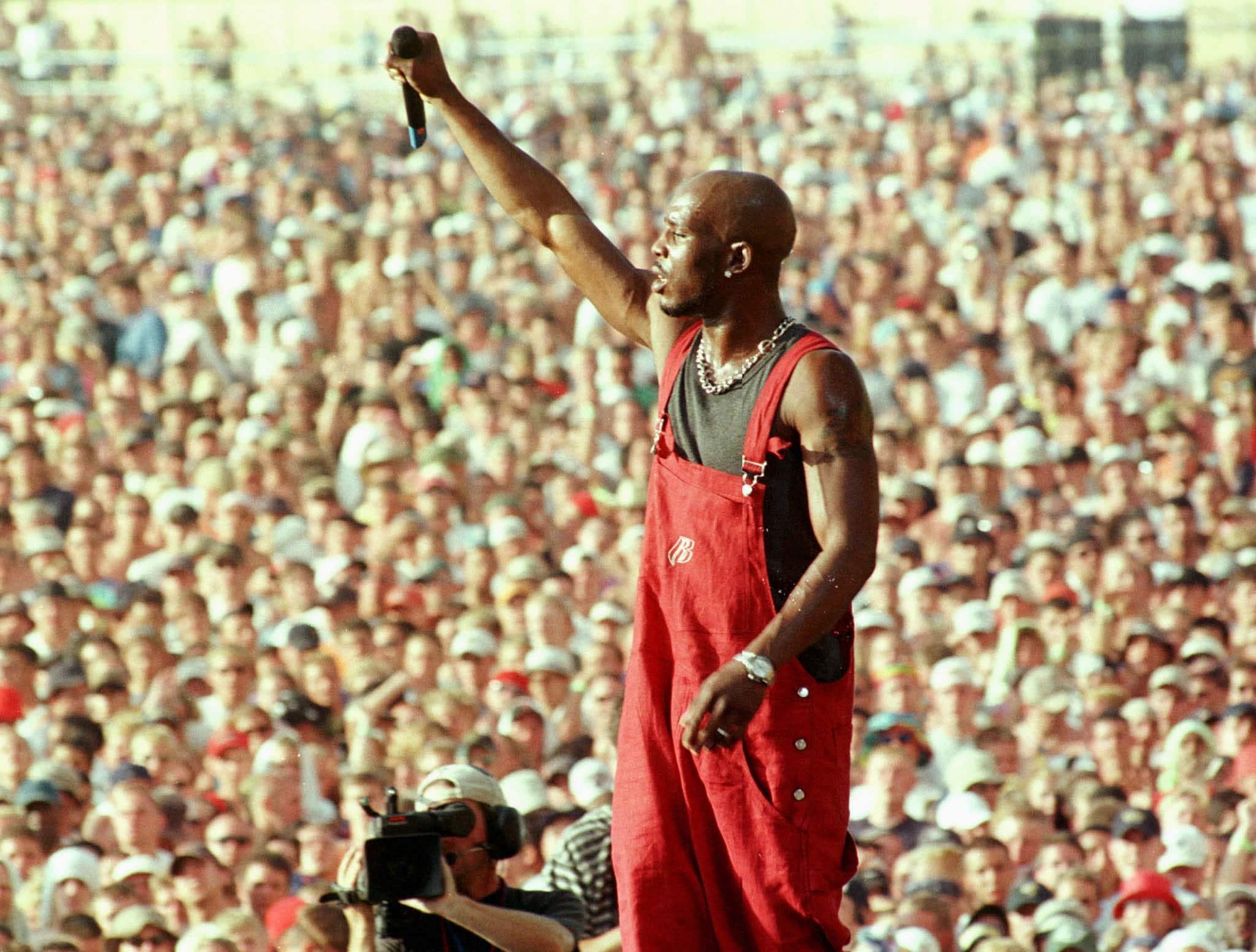 DMX na festivalu Woodstock, 1999