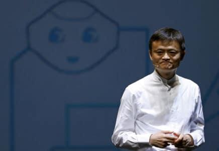 Zakladatel společnosti Alibaba a miliardář Jack Ma