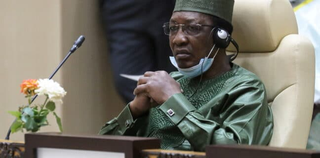 Zemřel prezident Čadu Idriss Déby