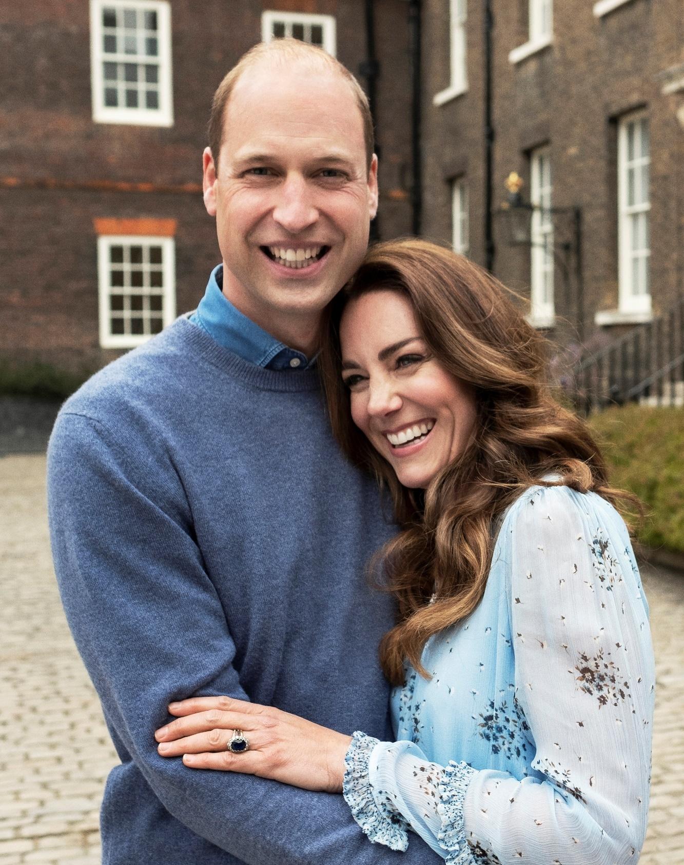 Kate a William 10. výročí svatby