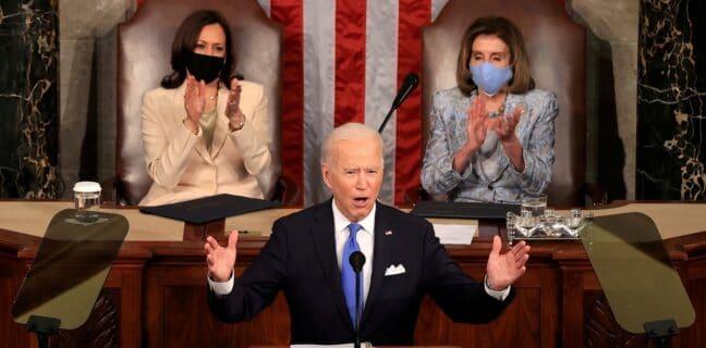 Joe Biden před Kongresem