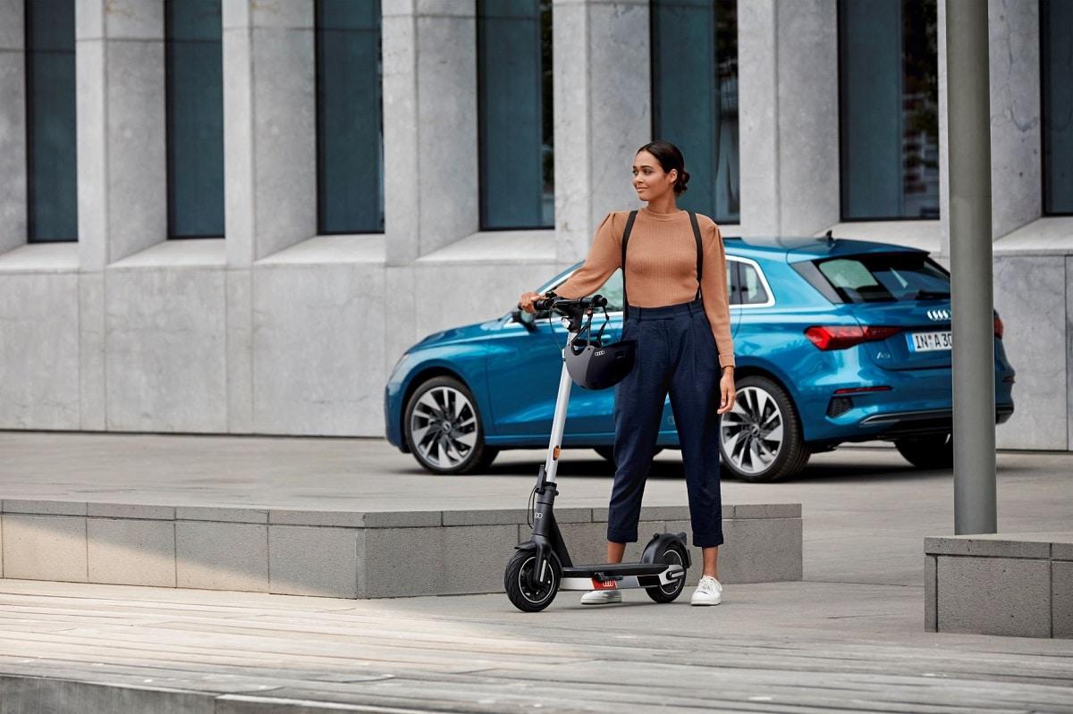 Nejlevnější Audi eScooter