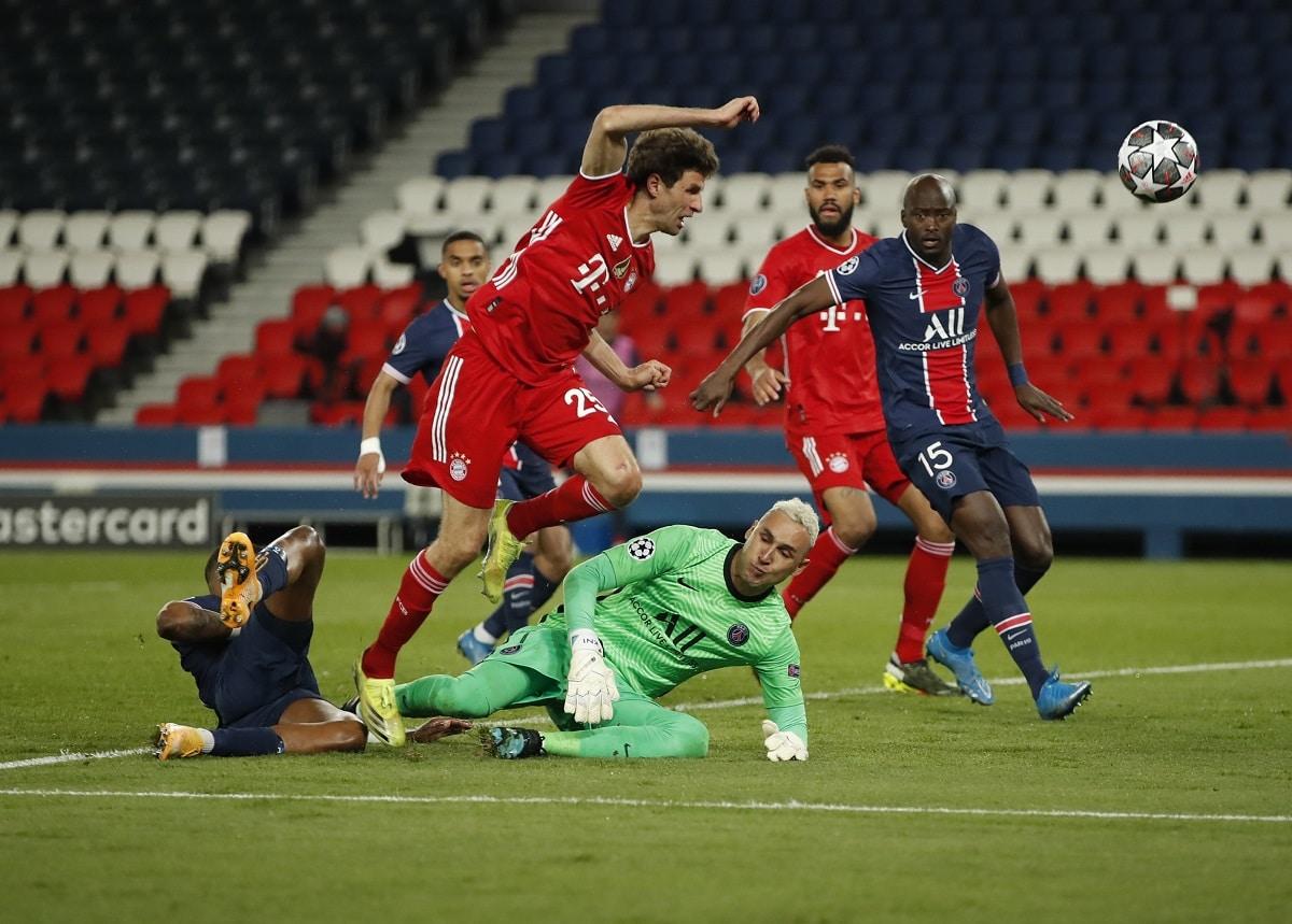 Paříž v lize mistrů vyřadila obhájce