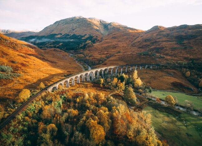 viadukt Harryho Pottera