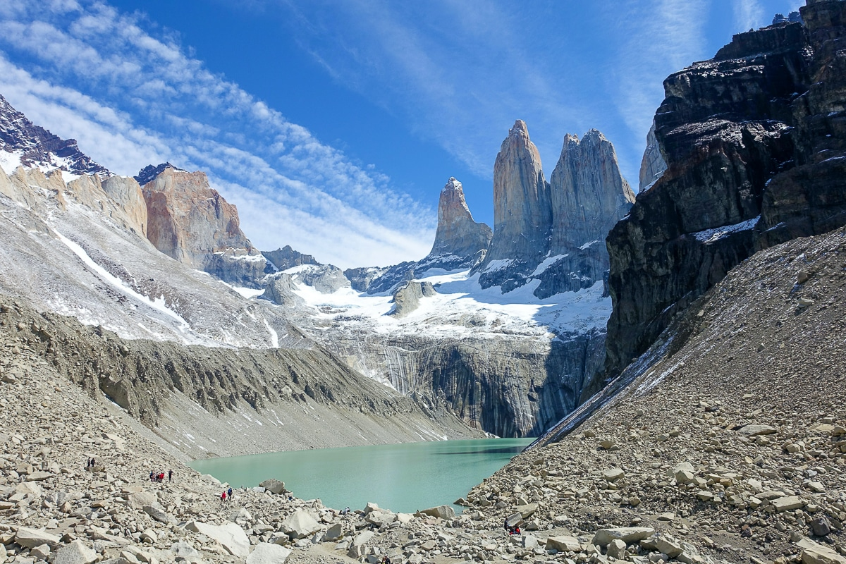 navštívit Patagonii