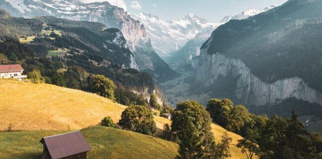 Lauterbrunnen Švýcarsko