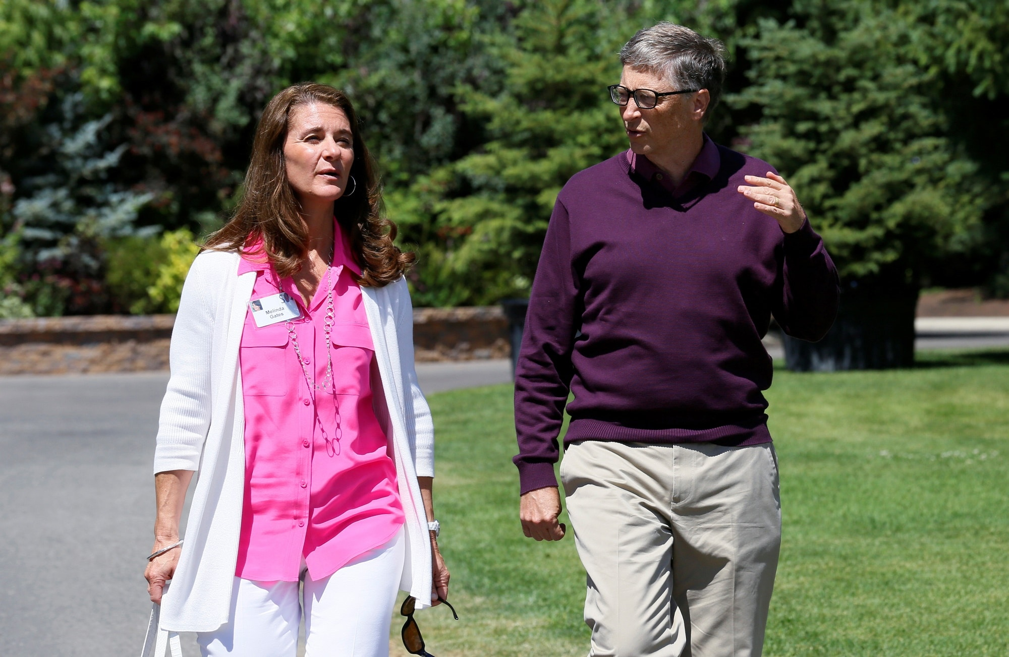 Bill Gates a manželka Melinda