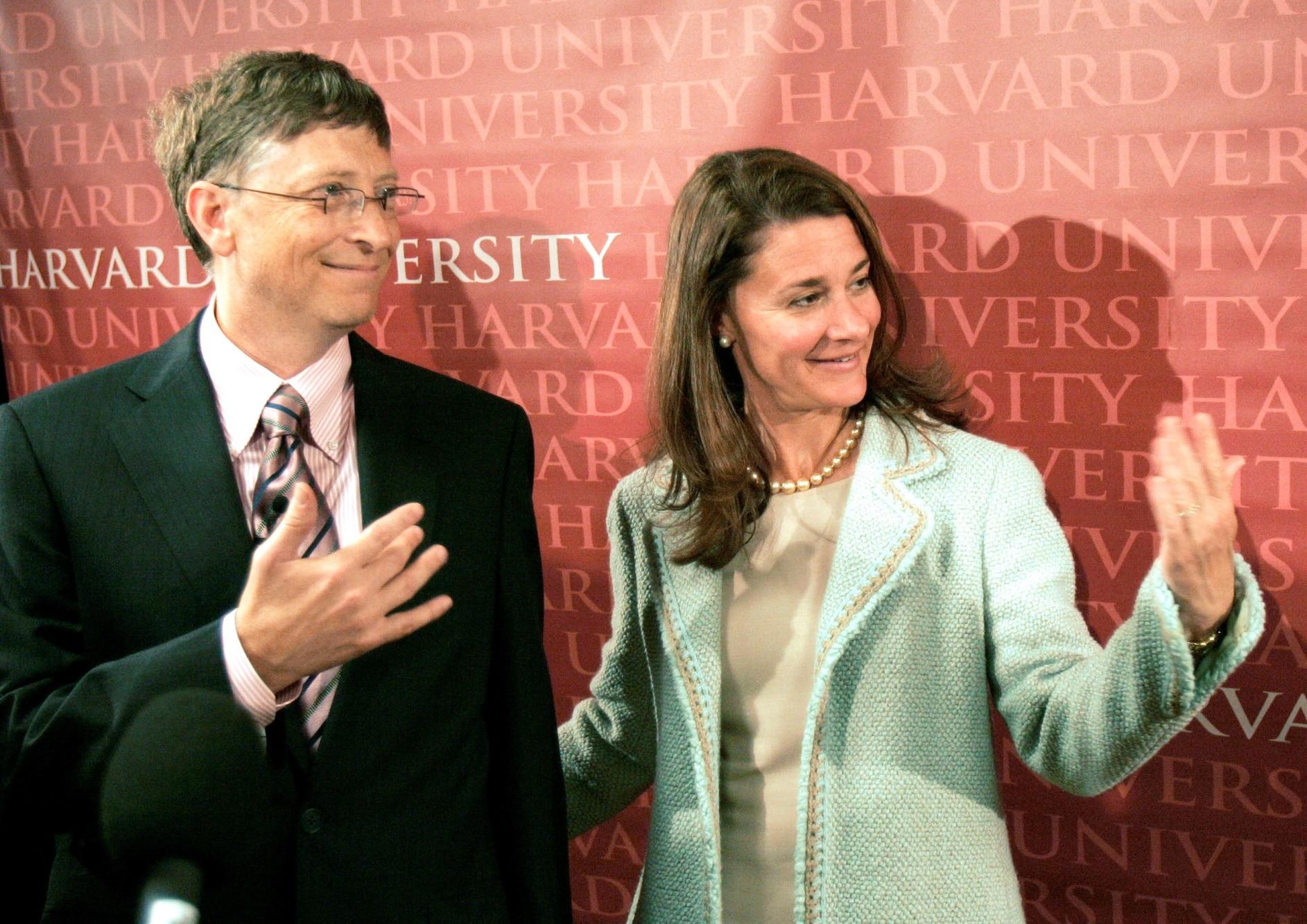 Bill Gates a Melinda Gates, 2007