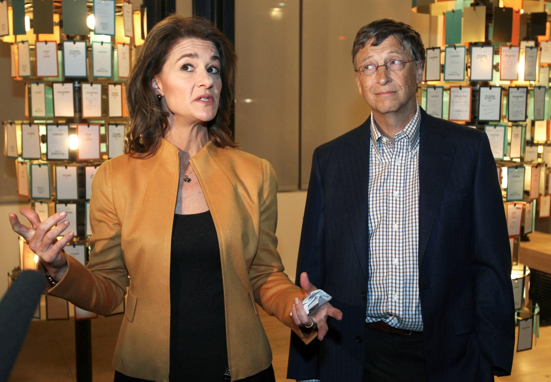 Bill Gates a Melinda Gates