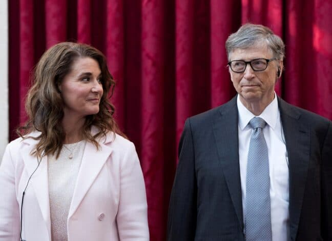 Bill Gates se rozvádí s manželkou Melindou