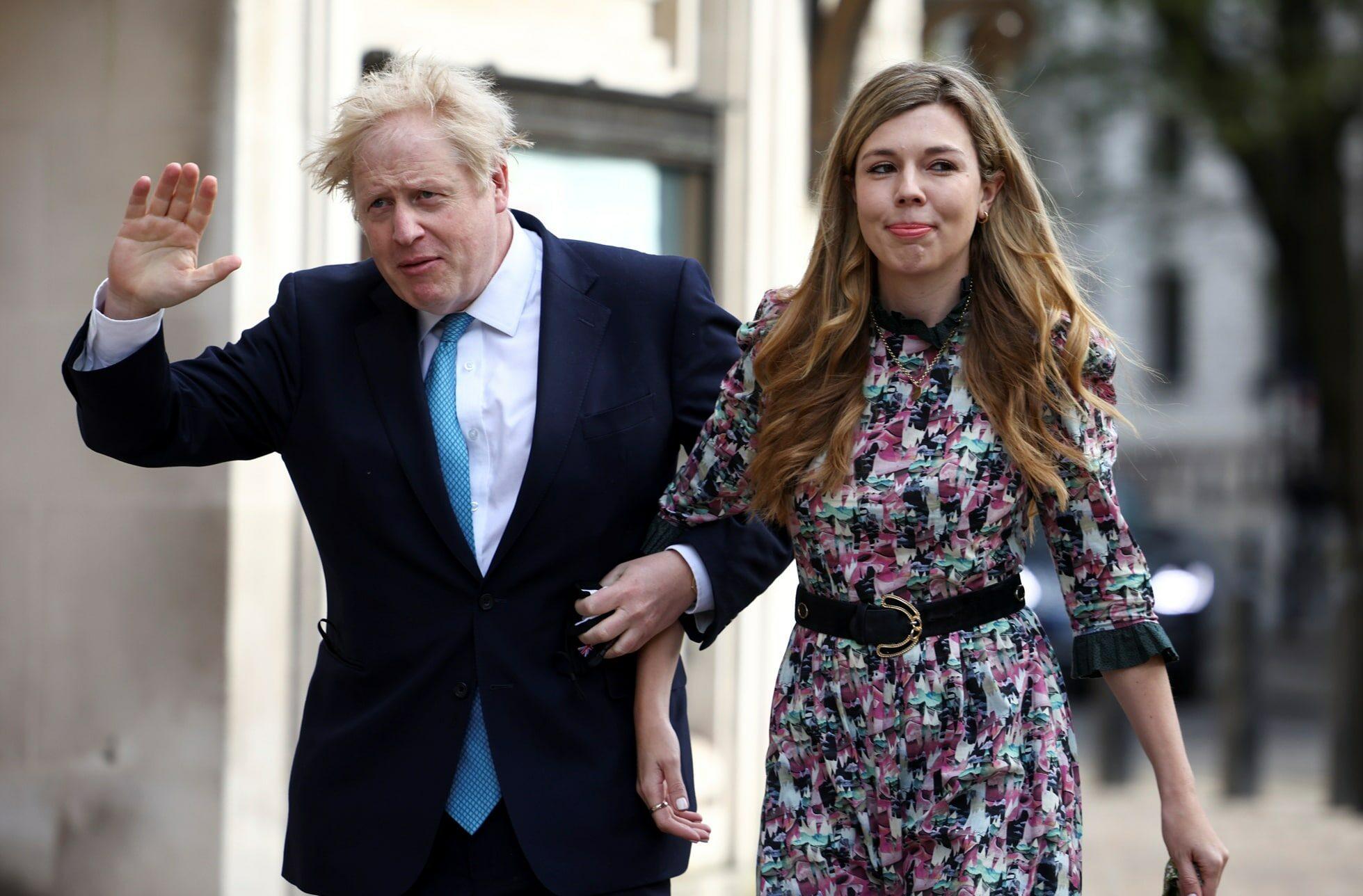 Boris Johnson se oženil s Carrie Symonds