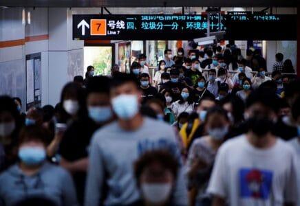 Čína růst obyvatel
