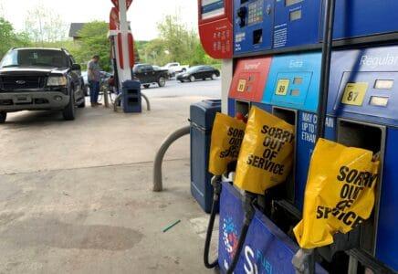 americké benzínové stanice