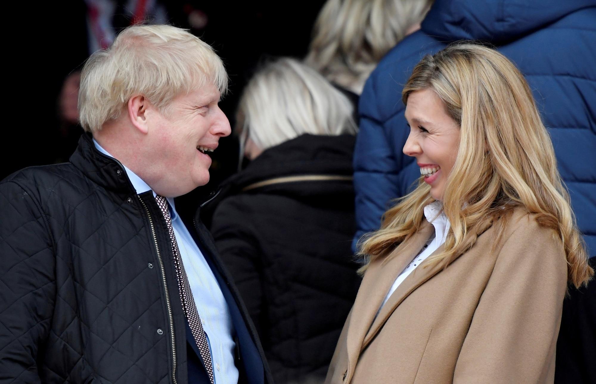 Boris Johnson s Carrie Symonds