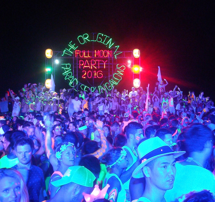 Full Moon Party Thajsko