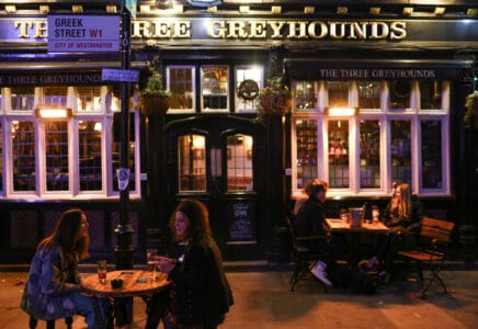 Restaurace Velká Británie