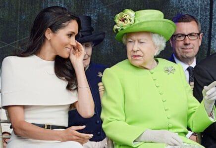 Meghan a Harry královnu informovali o narození dcery Lili