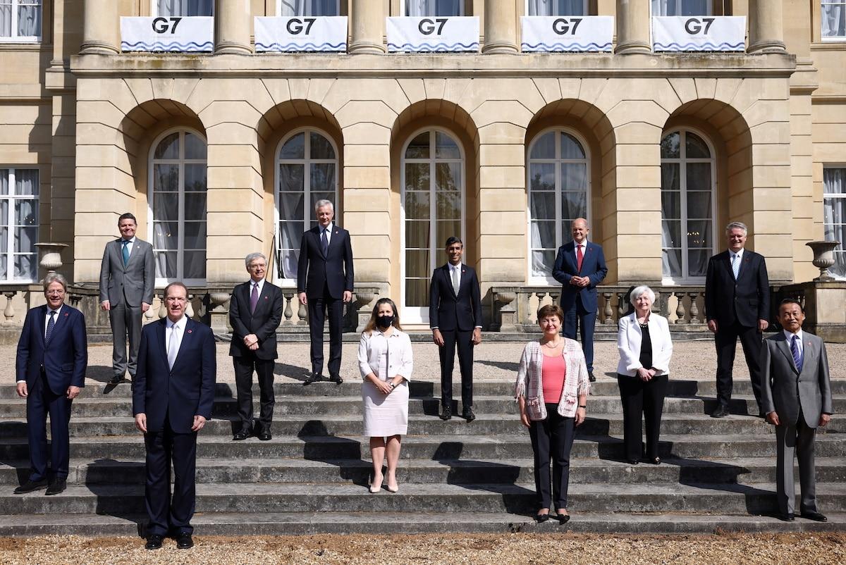 Setkání ministrů financí skupiny G7 v Londýně. Foto: Reuters