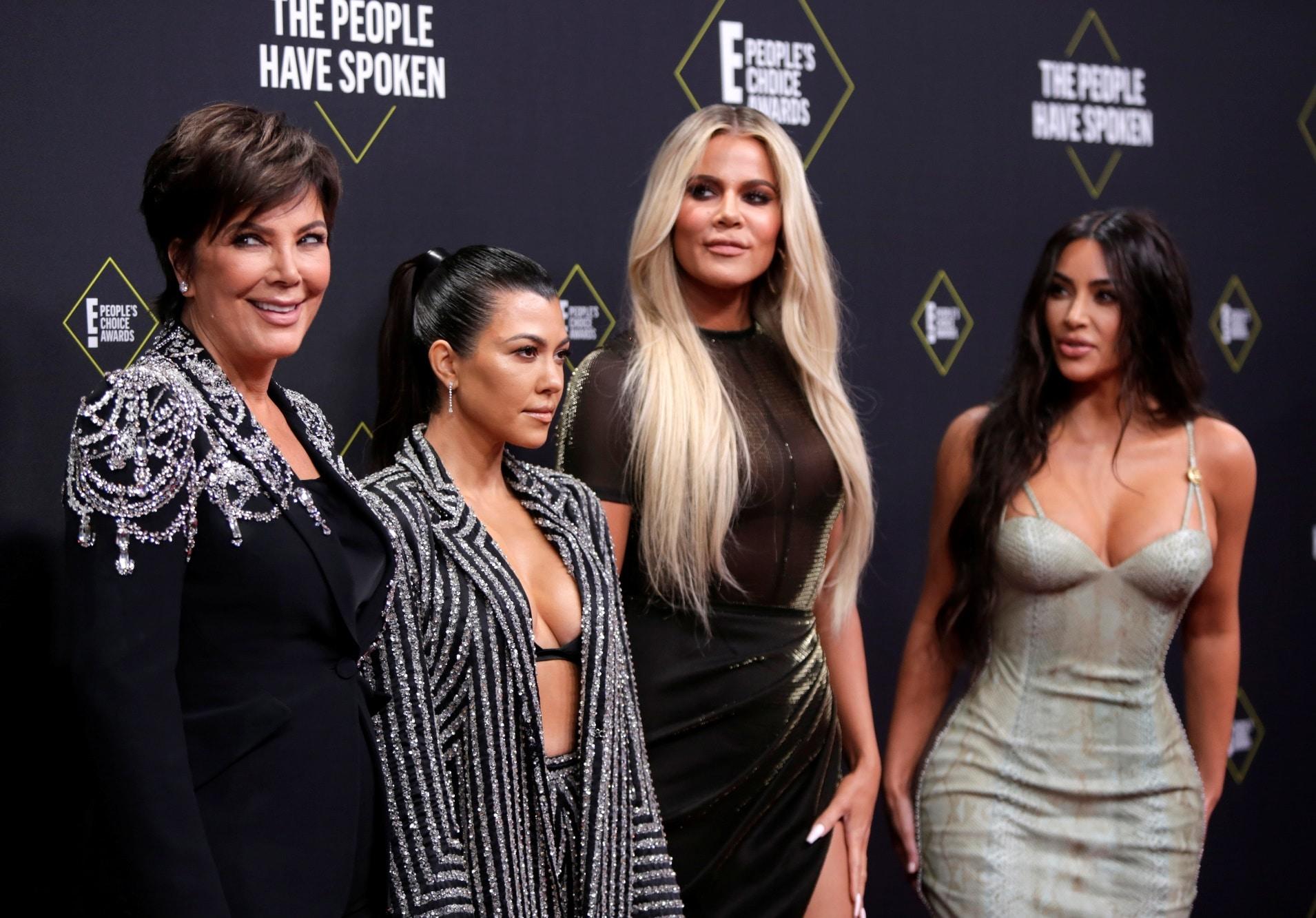 Kris Jenner, Kourtney Kardashian, Khloe Kardashian a Kim Kardashian