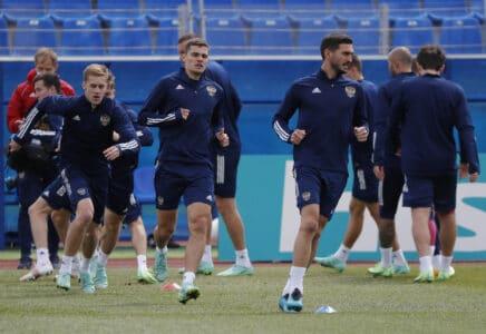 Euro 2020 - Russia Training