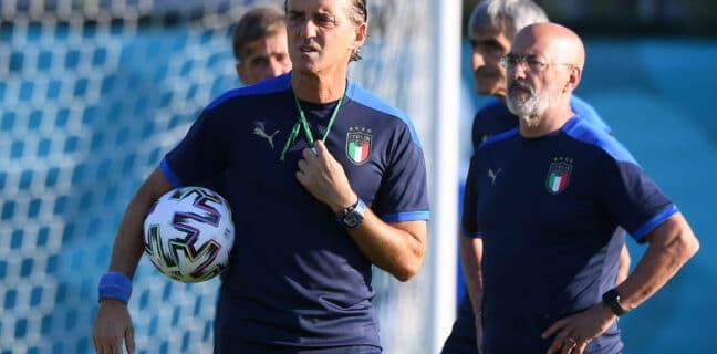 Euro 2020 - Italy Training