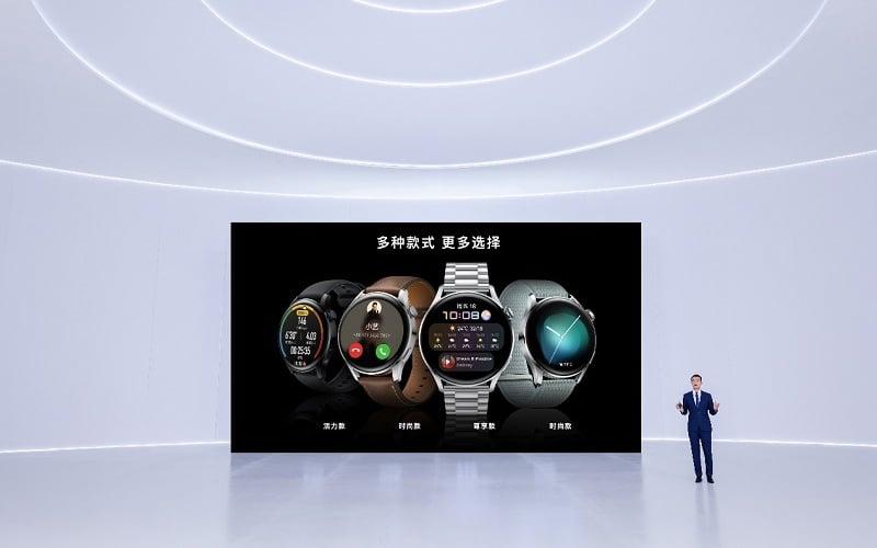 Ukázka HarmonyOS na chytré hodinky. Foto: Huawei