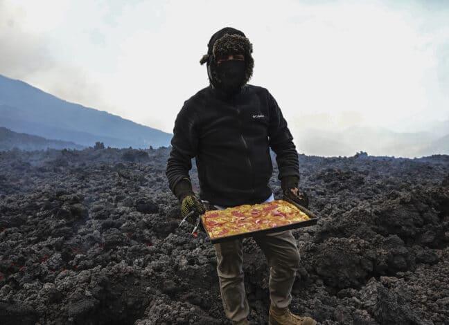 Pizza Pacaya Maria