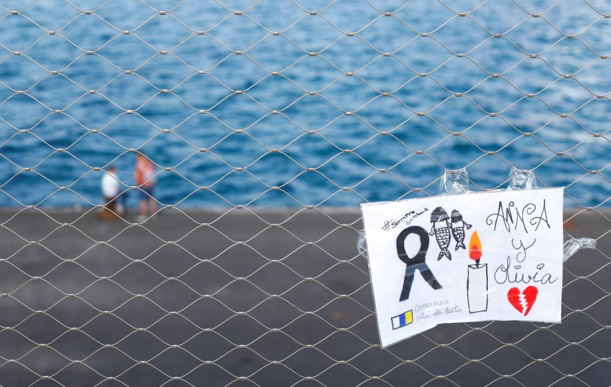 Cedule připomínající oběti, Tenerife