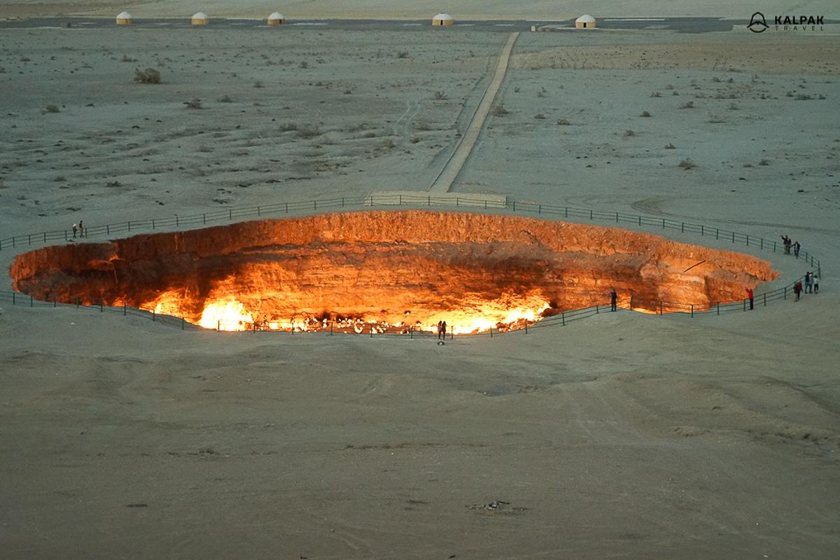 kráter Darvaza