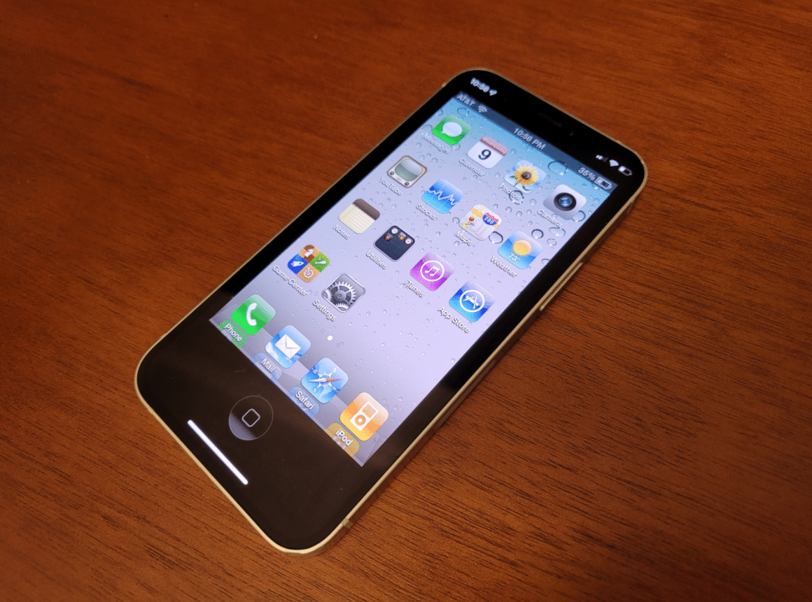 OldOS aplikace iPhone